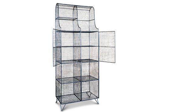 Wire mesh cabinet Ontario Clipped