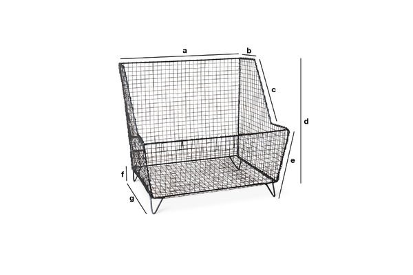 Product Dimensions Woburn grill basket