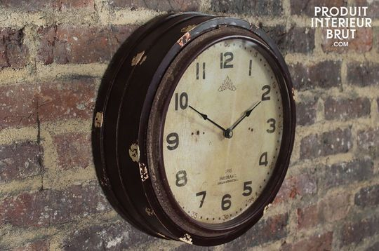 Wood Factory wall clock