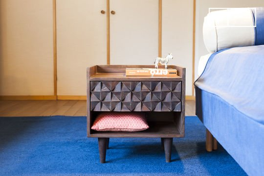 Wooden bedside table Balkis