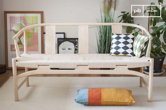 Wooden bench Mäntta