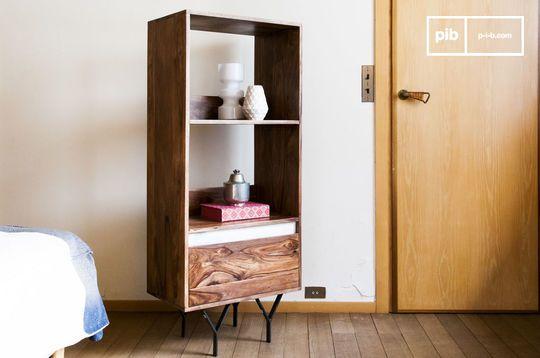 Wooden bookcase Mabillon