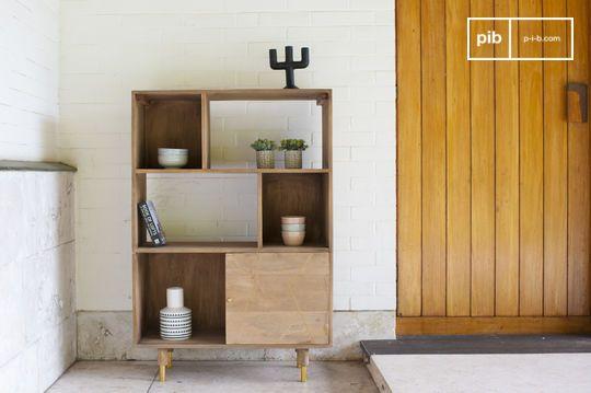 Wooden bookcase Messinki