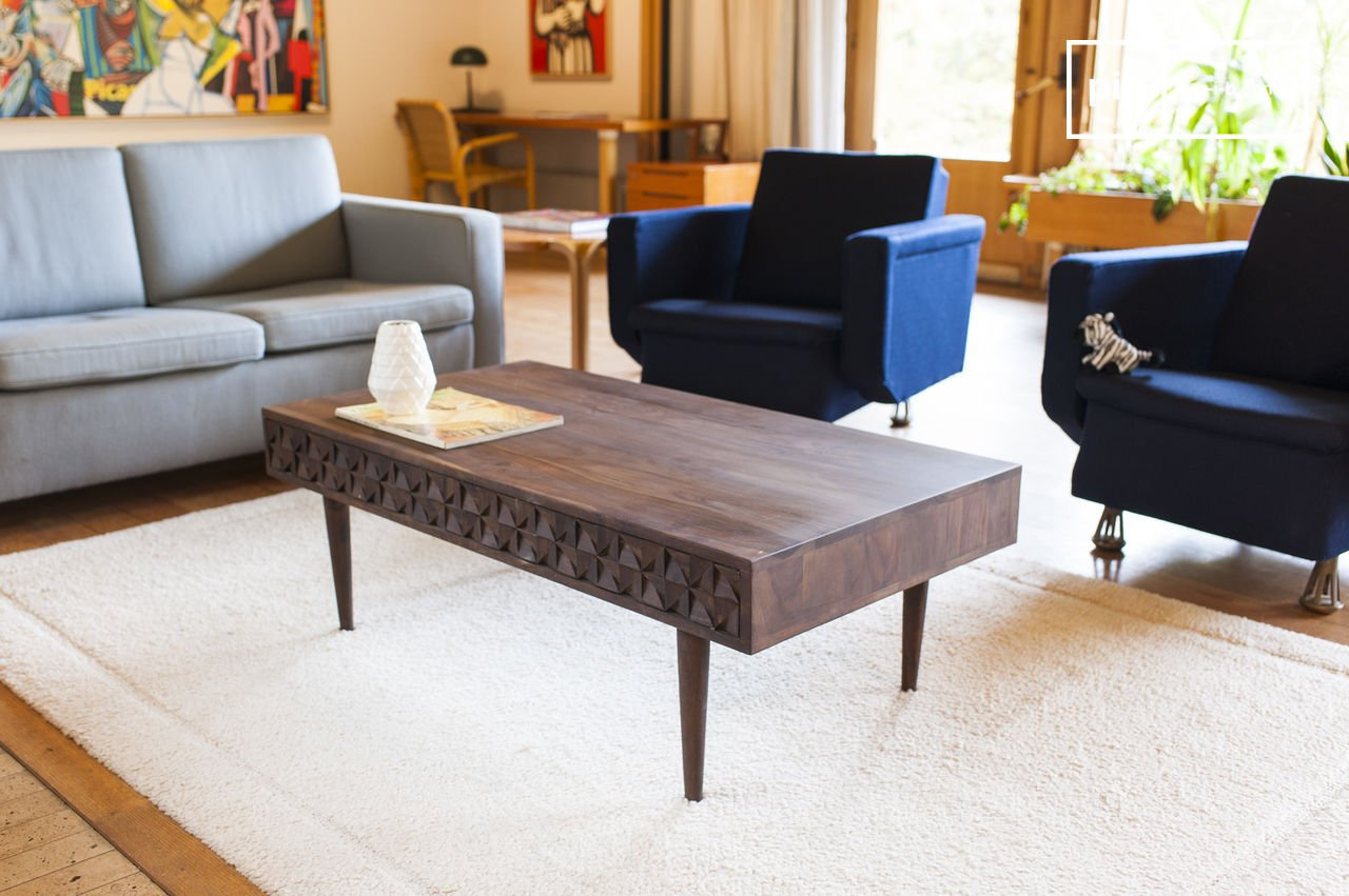 Wooden Coffee Table Balkis