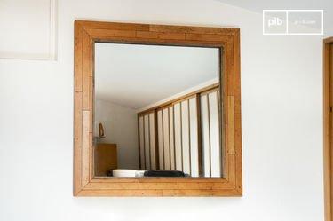 Wooden mirror Sheffield