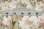 Wooden shabby chic coat stands
