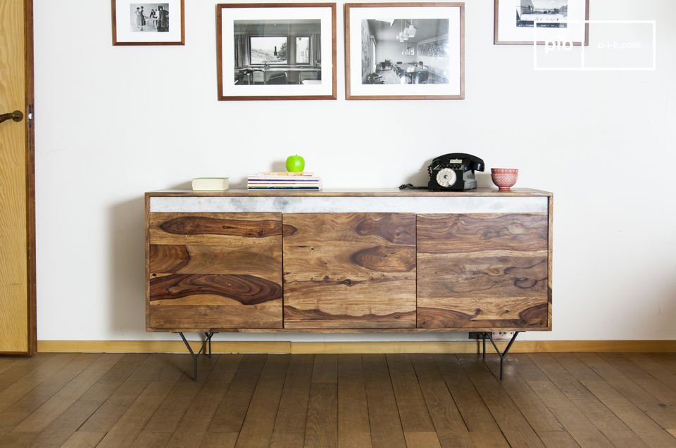 Wooden sideboard Mabillon