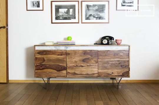 Wooden sideboard Mabillon