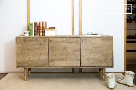 Wooden sideboard Messinki