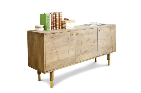Wooden sideboard Messinki Clipped