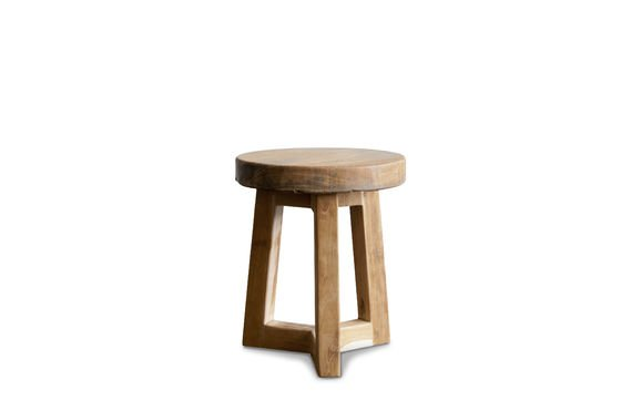 Wooden stool Maverick Clipped