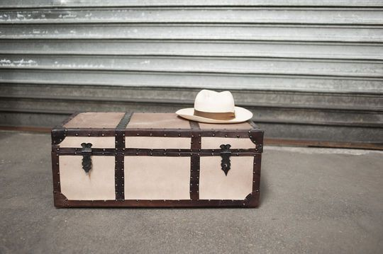 Wooden suitcase Lucas