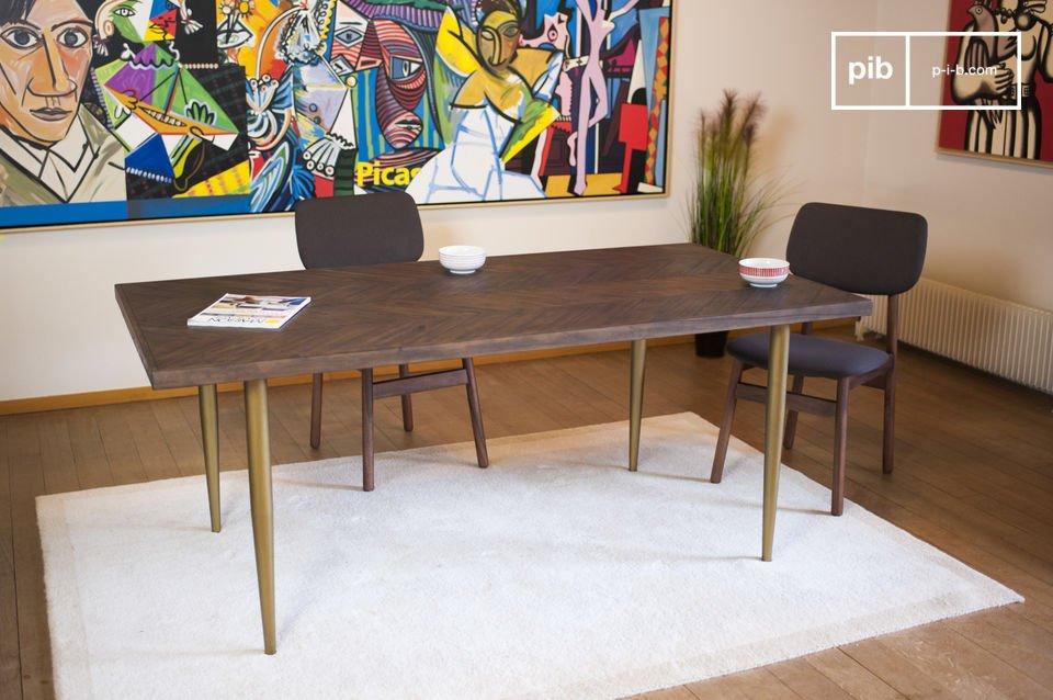 Wooden table Alienor