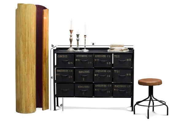 Product Dimensions Workshop chest with 12 drawers