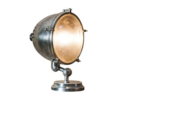 XXL Silver-plated lamp Clipped