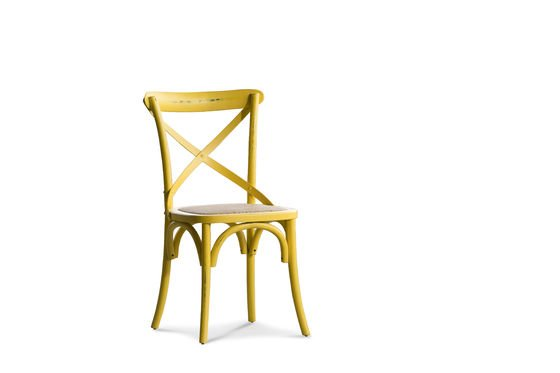 Yellow chair Pampelune Clipped