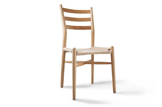 Ystad wooden chair Clipped