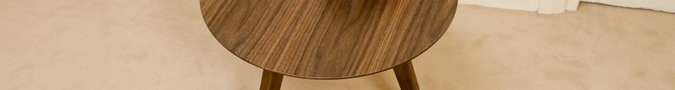 Material Details Zen occasional table