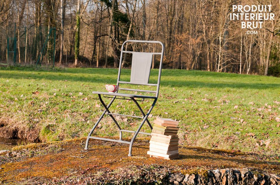 A folding chair suitable for any area