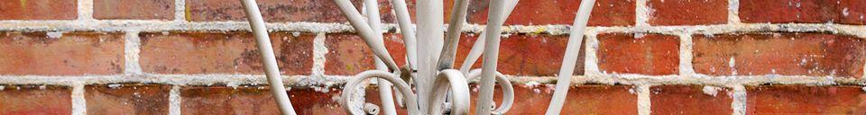 Material Details Zoé metal coat stand