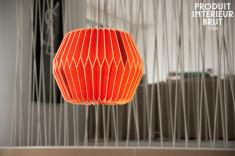 Chehoma : Hippy rouge hanging light